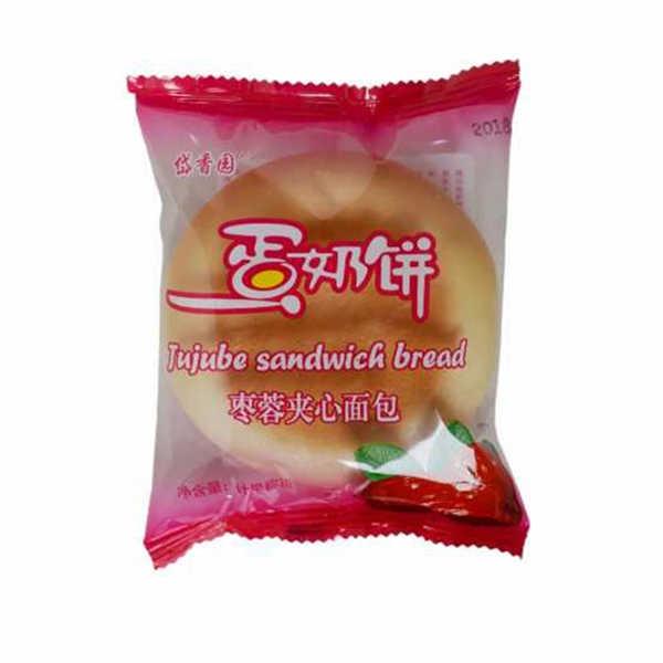 枣蓉夹心蛋奶饼
